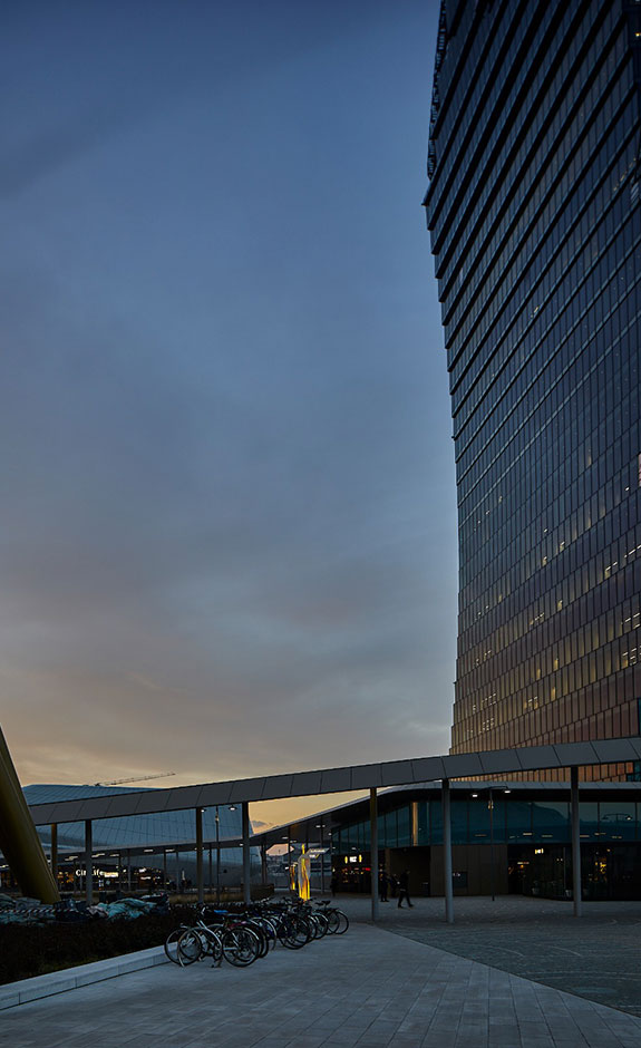quartiere sempione milano tramonto drone spazi esclusivi