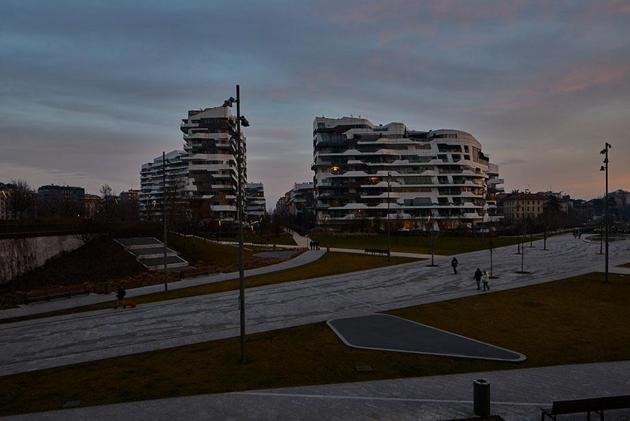 quartiere sempione tramonto a milano spazi esclusivi